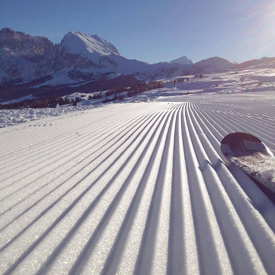 Piste sci Alpe di Siusi Ortisei