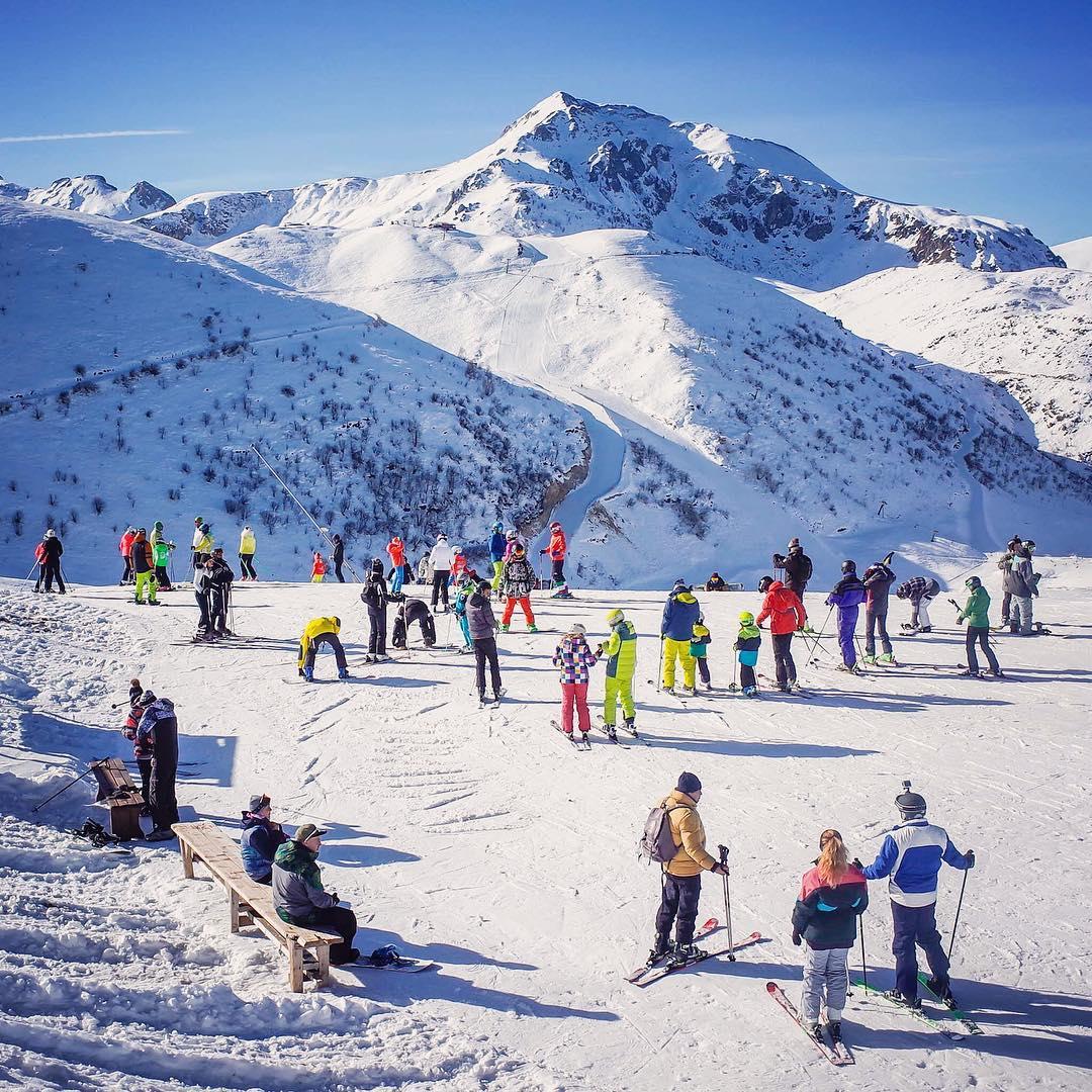 Le piste sci a Prato Nevoso