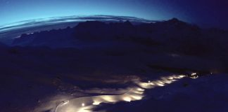 Snow Night al Corvatsch