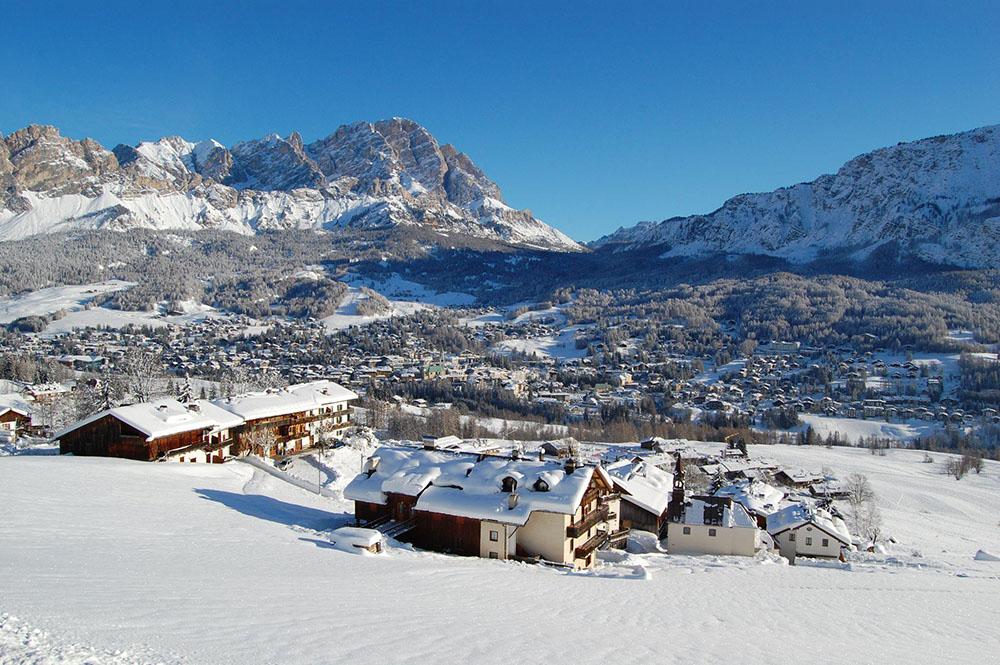 Vacanze di Natale a Cortina d'Ampezzo - Credits Dolomiti.org