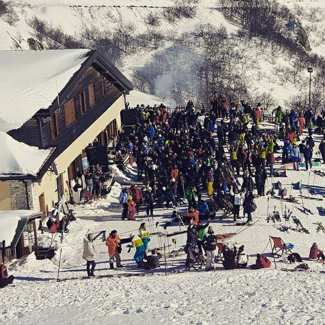 La Baita la Capannina durante l'apres ski