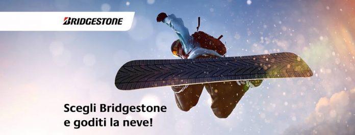 Bridgestone regala uno skipass a tutti i suoi clienti