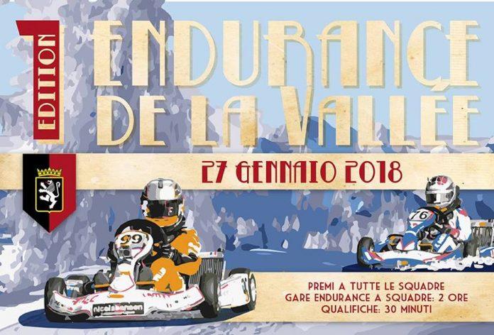 La gara Endurance de la Vallèe 2018 ice go kart che si terrà a Cervinia