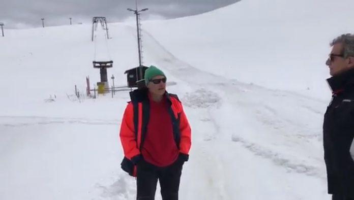 La situazione degli impianti sciistici a Monte Prata