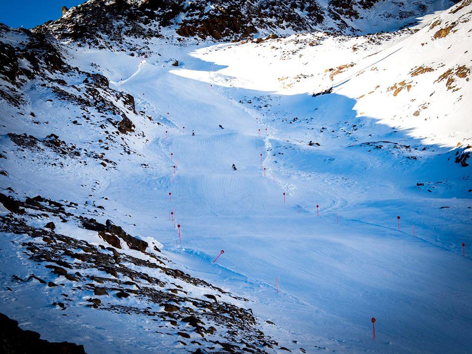 La famosa pista da sci Val della Mite a Pejo