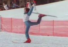 acroski balletto sugli sci