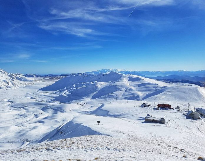 campo imperatore piste sci