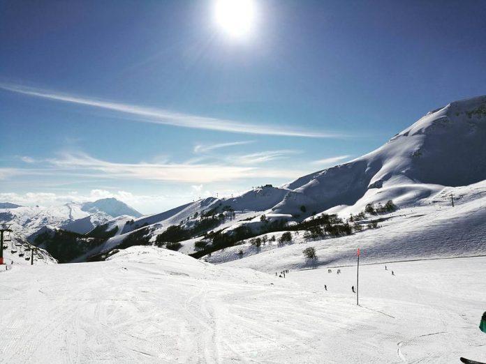 ovindoli monte magnola piste sci