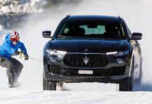 record velocità maserati levante snowboard