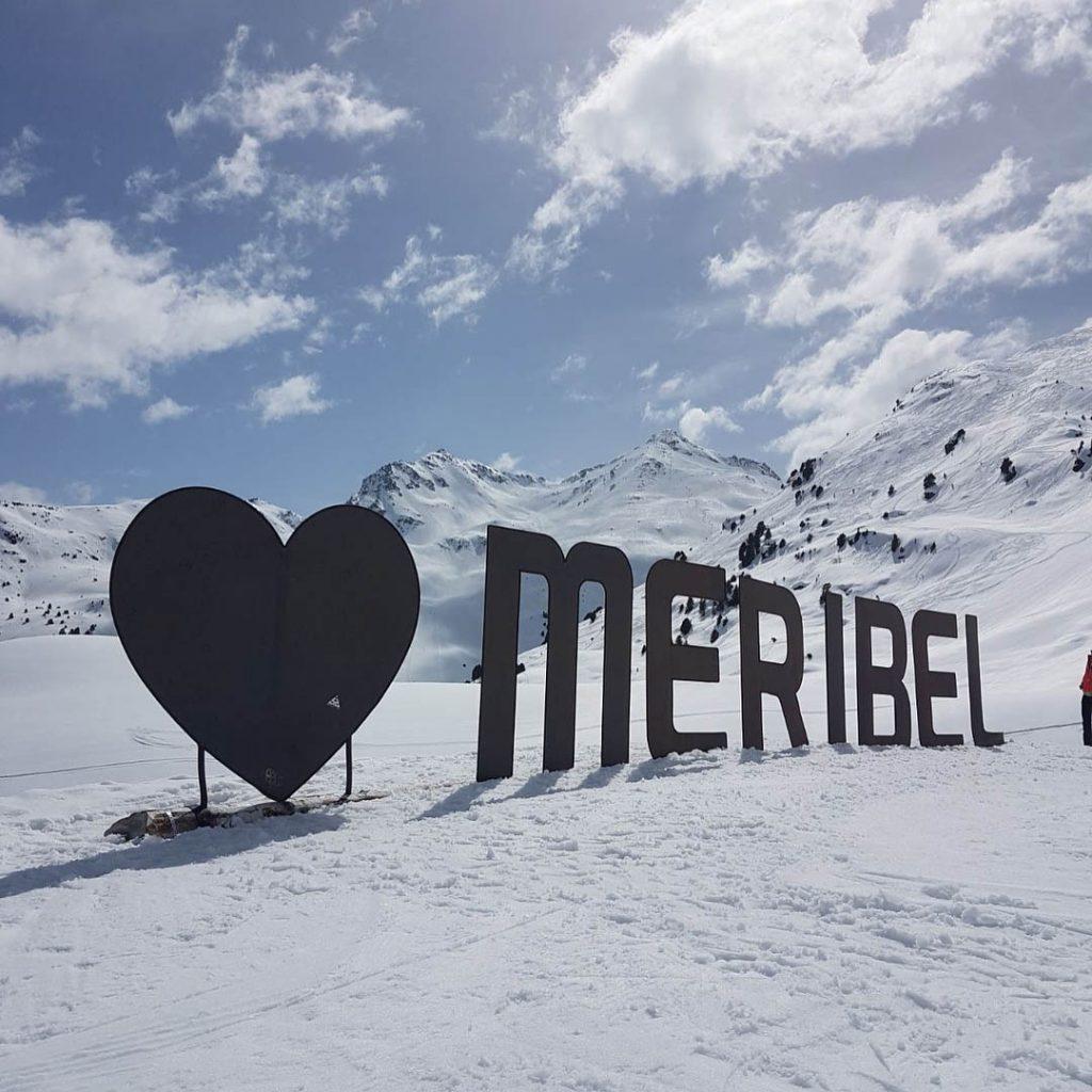 sci snowboard meribel francia
