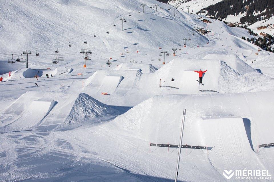 snowboard meribel