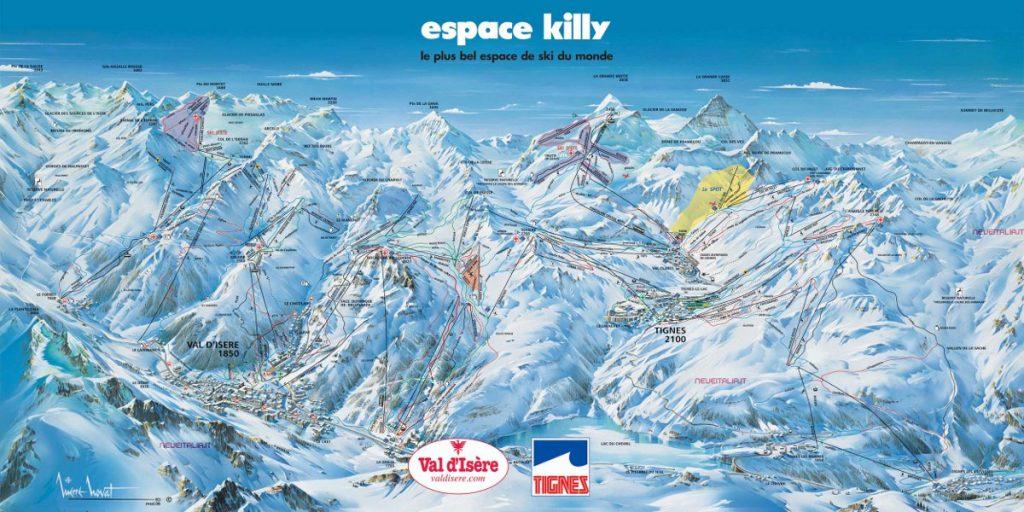 espace killy skimap impianti piste tignes val d isere
