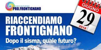 Riaccendiamo Frontignano, dopo il sisma quale futuro