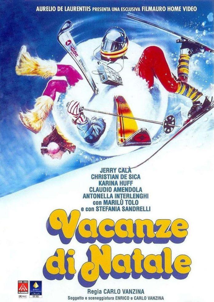 copertina vhs film vacanze di natale 1983