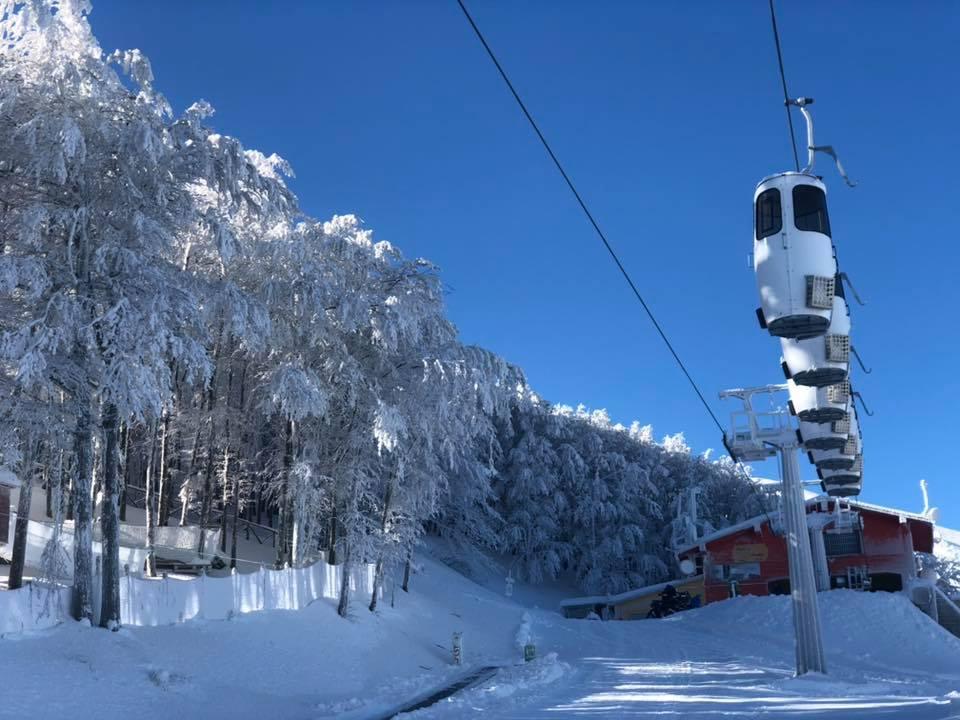 Cabinovia Monte Catria - stazione di arrivo