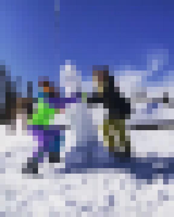 foto censurata del pupazzo di neve