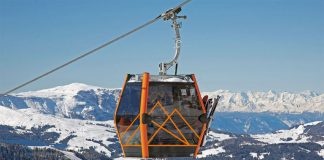 Cortina, cabinovia Freccia nel Cielo il video dell'inaugurazione