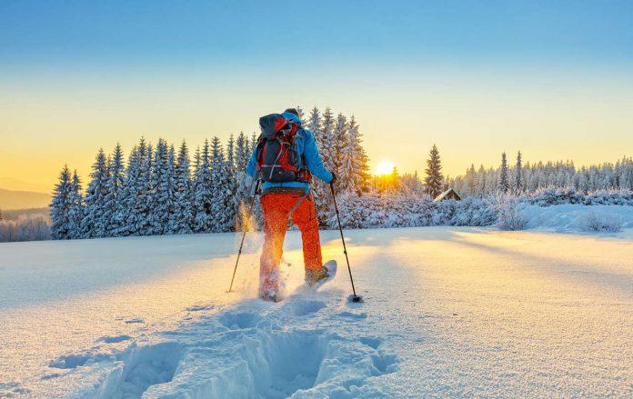 ciaspole consigli per camminare sulla neve