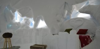 pontedilegno tonale stanze igloo ghiacciaio del presena