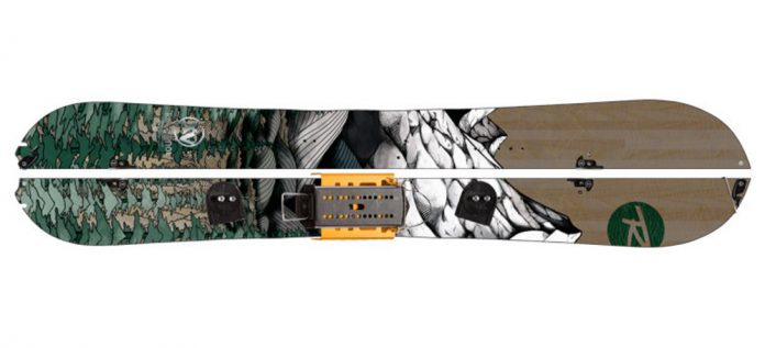 un esempio di splitboard