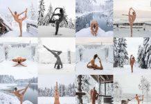 yoga sulla neve migliori esercizi