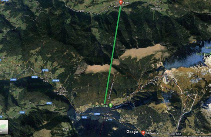 Collegamento Val di Funes con la Val Gardena possibile con due impianti ma Reinhold Messner protesta