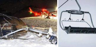 Stoos, la seggiola della seggiovia precipita in Svizzera tre feriti gravi e un morto