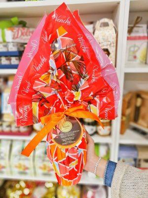 Venchi, Uovo di Pasqua cioccolato extra fondente (con crema cuor di cacao) – 328 gr