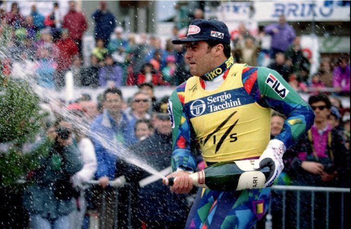Alberto Tomba 25 anni fa trionfava nella Coppa del mondo di sci