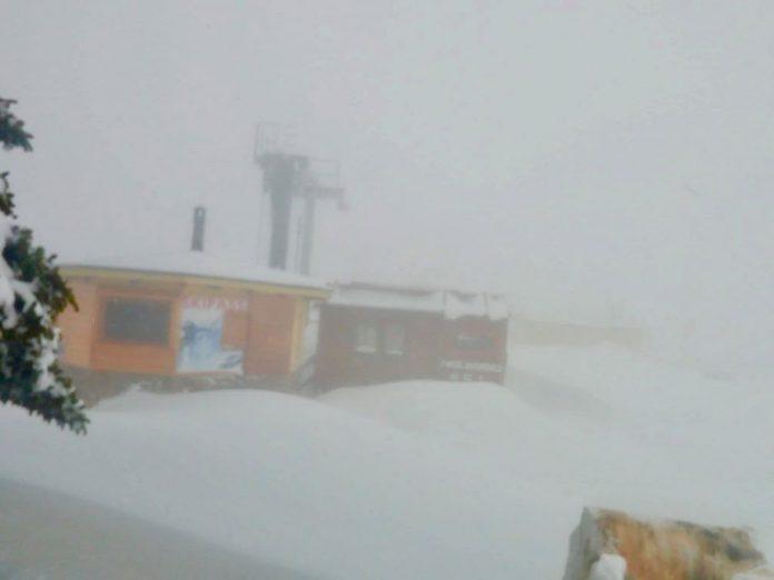 Bolognola ski, incredibile oltre 1 metro di neve