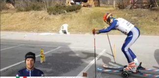 Christof Innerhofer, nel video ci insegna come sciare a casa