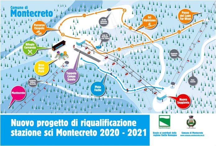 Cimone sci, nuova seggiovia biposto e pista adatta anche ai principianti a Montecreto
