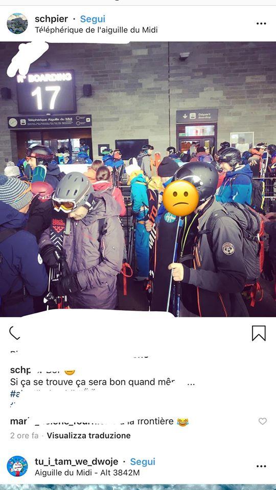 Coronavirus, Courmayeur impianti chiusi e gli italiani vanno a sciare in Francia code a Chamonix