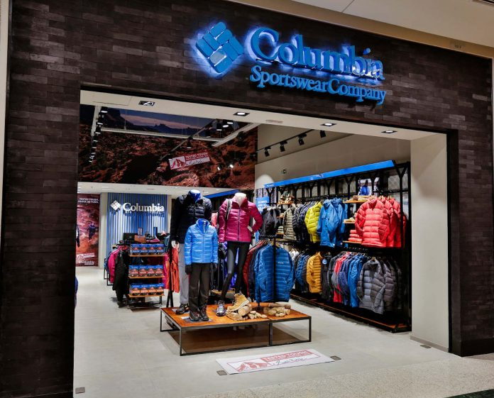 Columbia chiude tutti i negozi in Europa a causa del Coronavirus