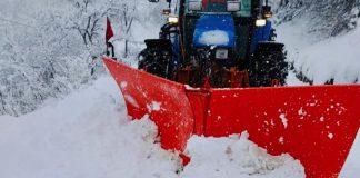 Monti Sibillini, marzo folle li copre di neve