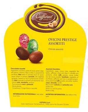 Ovetti Caffarel prestige assortiti – 500 gr