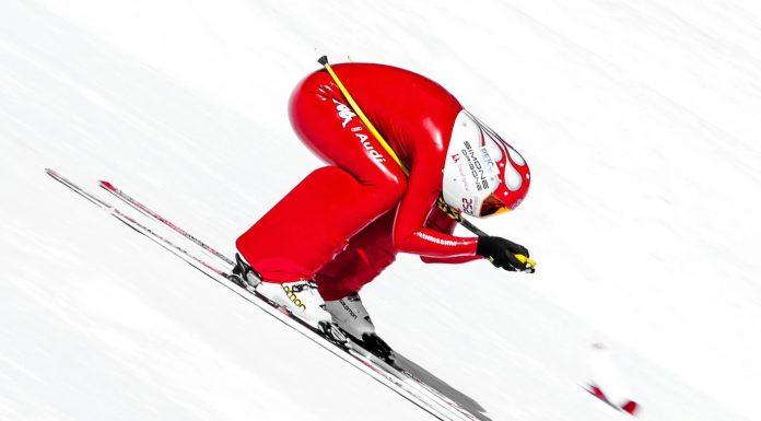 Il razzo Simone Origone le vince 4 su 4 nello speed skiing a Idre Fjall