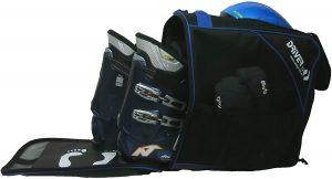 Borsa porta scarponi da sci e casco Driver 13 colore nero e blu