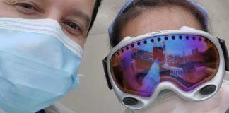 Goggles for docs, la raccolta maschere da sci per il personale medico