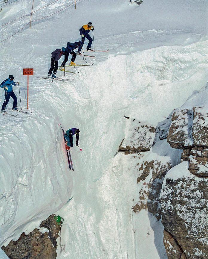Corbet's Couloir è la pista da sci più spaventosa degli Stati Uniti d'America