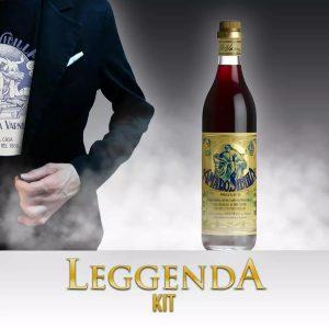 Leggenda kit Amaro Sibilla, t-shirt e bottiglia cl. 70