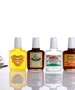 I Magnifici 4 Varnelli, Varnelli - Amaro Sibilla - Moka - Mandarino liquore in fiaschetta cl. 10