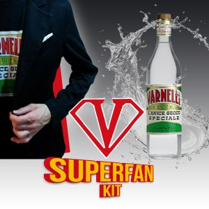 Superfan kit Varnelli, t-shirt e bottiglia cl. 70